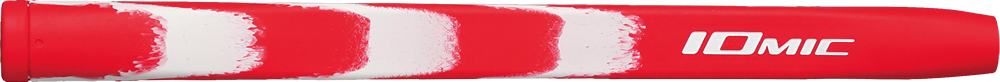 Putter Grip Opus 2 Coral red × white